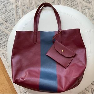 JCrew Downing Leather Tote